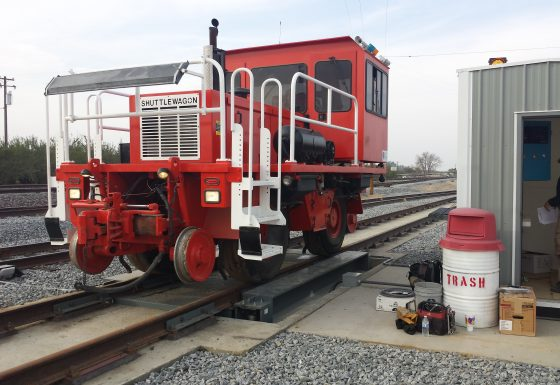 In-Motion Rail Scale Missisippi