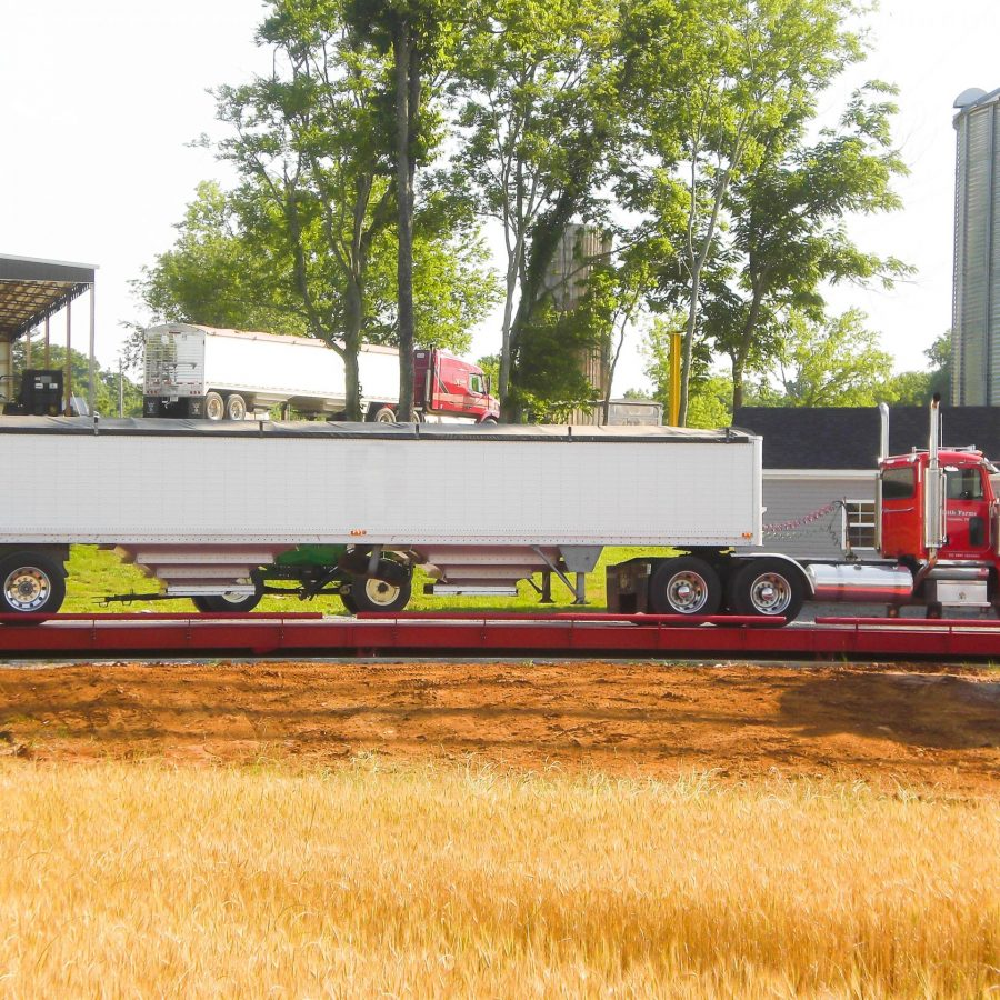 Certified Truck Scales for Farms to Weigh High Volume Truck Scale Loads.